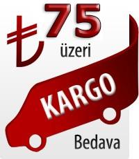 75 TL Üzeri Ücretsiz Kargo